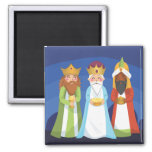 Three Wise Men 2 Inch Square Magnet
