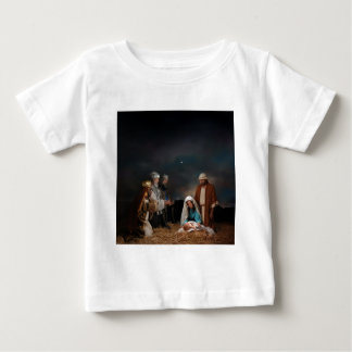 Three Wise Men at the Nativity Baby T-Shirt
