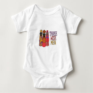Three Wise Men Baby Bodysuit