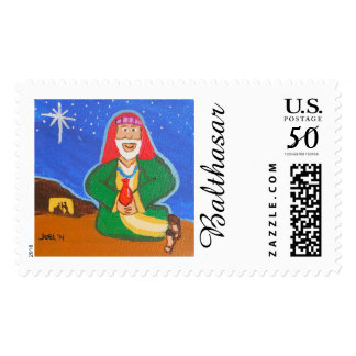 Three Wise Men - Balthasar postage Stamp
