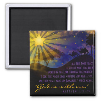 Three Wise Men Bible Verse Fridge Magnet Fridge Magnets