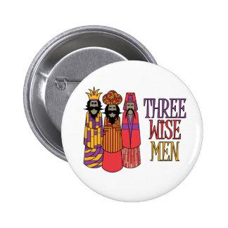 Three Wise Men Pinback Button
