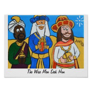 Three Wise Men by Joel Anderson Poster
