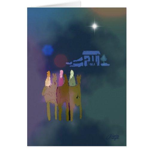 Three Wise Men Cards