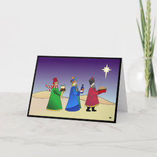 Irreverent cards zazzle three wise men christmas card m4hsunfo