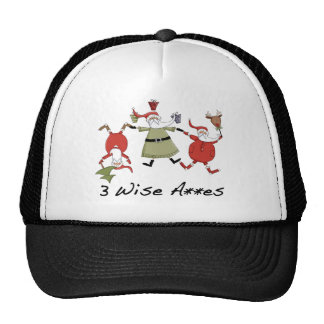 Three Wise Men Christmas Gifts Trucker Hat