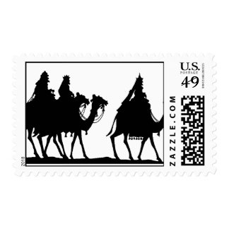 Three Wise Men Christmas Stamp