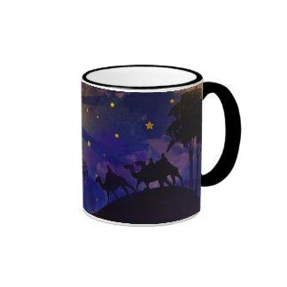 Three Wise Men & Christmas Star Coffee Mug