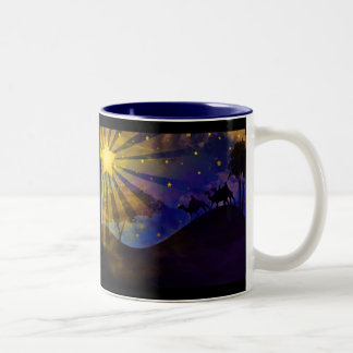 Three Wise Men & Christmas Star Coffee Mug