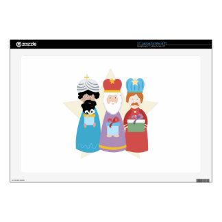 Three Wise Men Decals For Laptops