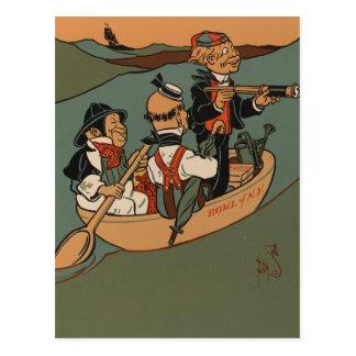 Three Wise Men from Gotham Postcard