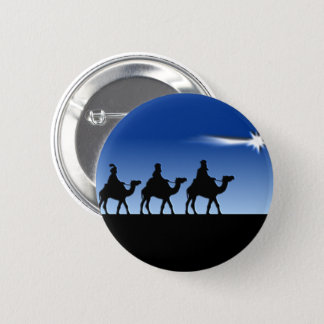 Three Wise Men - Gift of the Magi Button