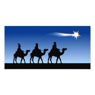 Three Wise Men - Gift of the Magi Card