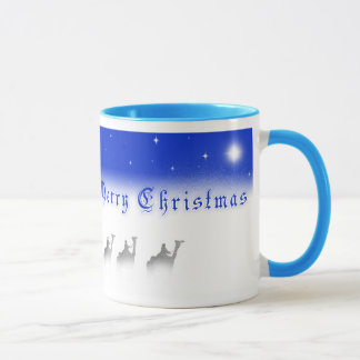 Three Wise Men Merry Christmas Mug