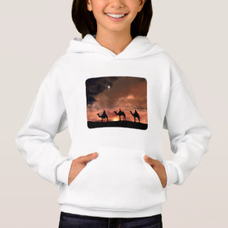 Three Wise Men Nativity Scene for Christmas Hoodie