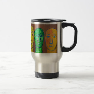 Three Wise Men (portrait expressionism) Travel Mug