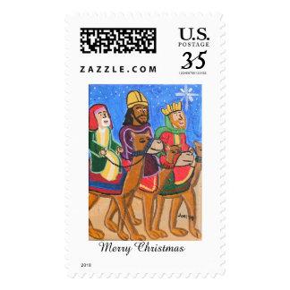 Three Wise Men postage Stamp