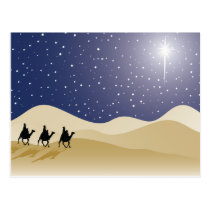 Three Wise Men Postcard