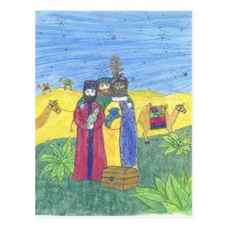 Three wise men postcards