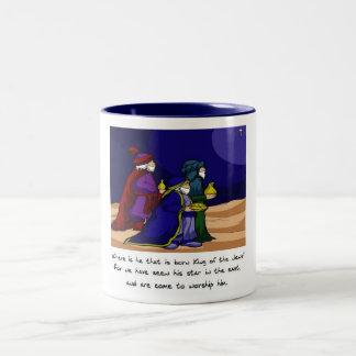 Three Wise Men Two-Tone Coffee Mug