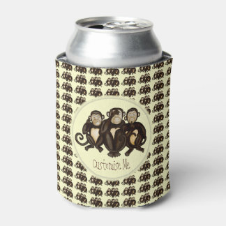 Three Wise Monkeys Can Cooler