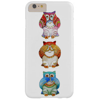 Three wise owls barely there iPhone 6 plus case