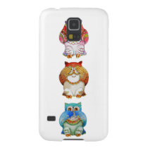 Three wise owls galaxy s5 case