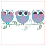 Three Wise Owls See Hear Speak No Evil Tote Bags Zazzle