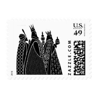 Three Wisemen Christmas Stamps
