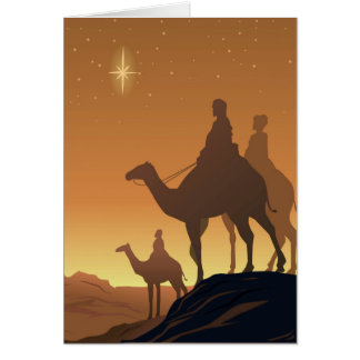 Three Wisemen Greeting Card
