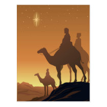 Three Wisemen Postcard