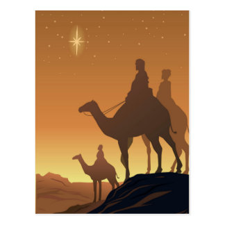 Three Wisemen Postcard