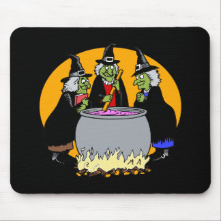 three witches mouse pads