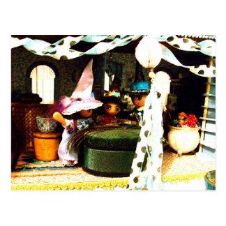 Three Witches Prosperity Postcard