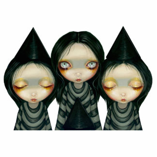 Three Witchy Sisters Photo Sculpture
