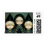 Three Witchy Sisters Stamp