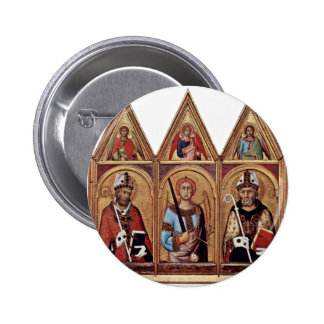 Three With Holy Angels In Each Gable, From Left: Pin