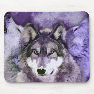 Three Wolves Mousepad