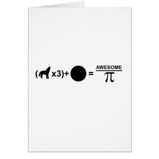 Three wolves one moon equals awesomeness on Pi Card