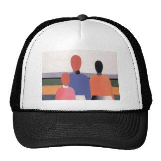 Three Woman Figures by Kazimir Malevich Trucker Hat