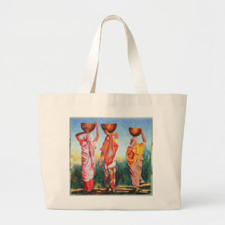 Three Women 1993 Large Tote Bag