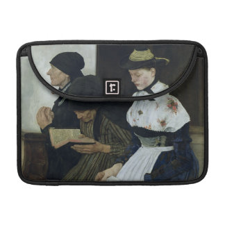Three Women in Church, 1882 Sleeves For MacBook Pro