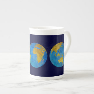 Three World Views Tea Cup