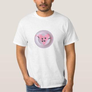 Three Year Old Pink Heart Kid Art T-Shirt