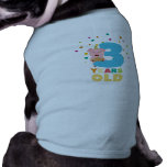 Three Years third Birthday Party Z9hyc T-Shirt