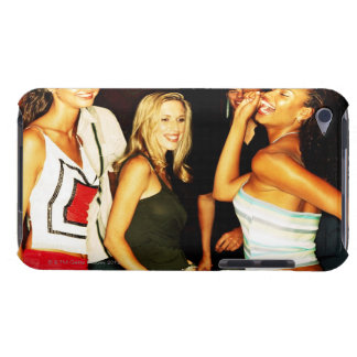 Three young women dancing barely there iPod cases