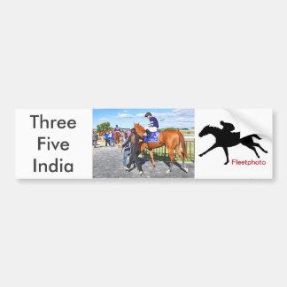Threefiveindia Bumper Sticker