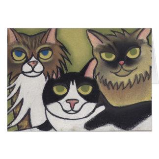 Three's Company by Robyn Feeley Card
