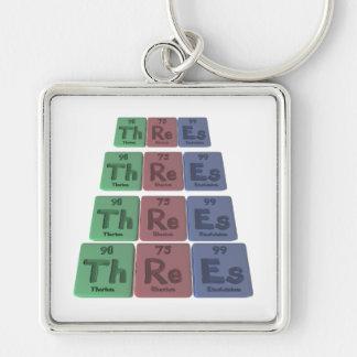 Threes-Th-Re-Es-Thorium-Rhenium-Einsteinium.png Keychain