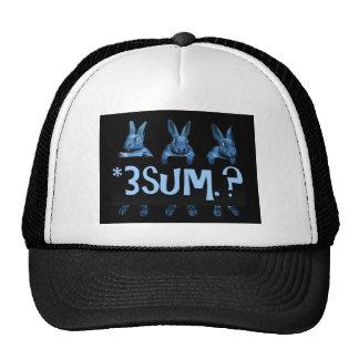 ThreeSome (Black) Trucker Hat